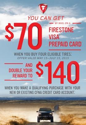 Firestone Summer Tire Promotion