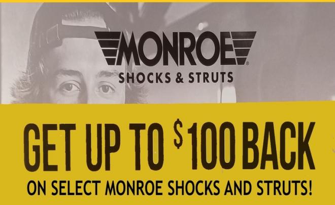 Monroe Rebate