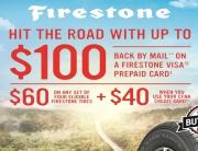 Firestone Summer Rebate 2019